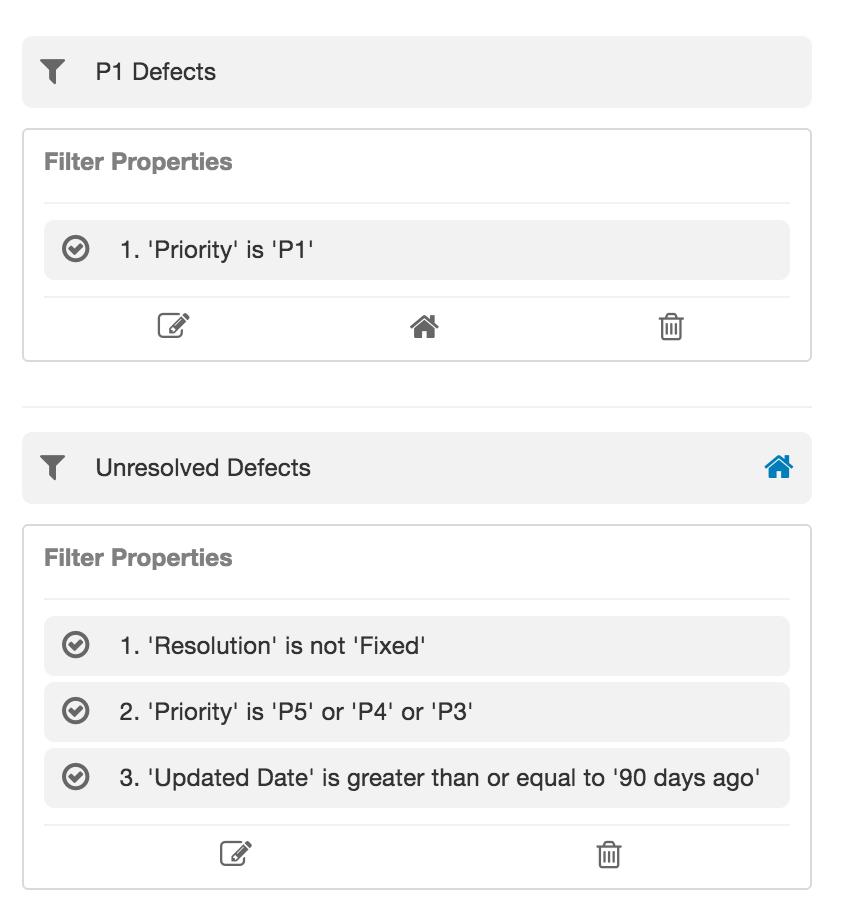 Default Filter
